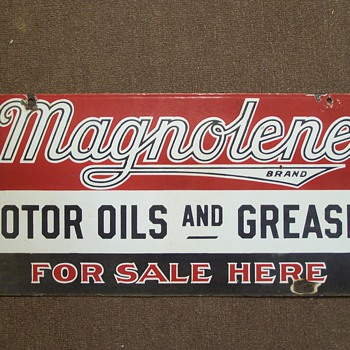 Magnolene Motor Oils and Greases - Petroliana