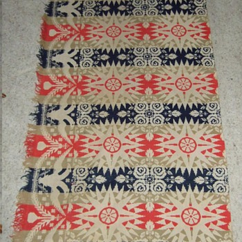 1853 Ardner Blanket made by jacquard