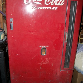 Our Early Coke Vending Machine-