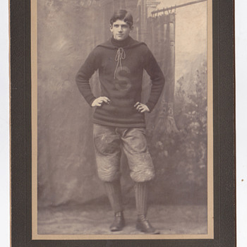 Frank Story Left End football player, Somervile Latin School graduate 1899