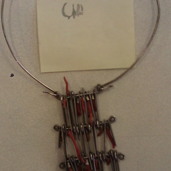 My Modernist Studio Necklace