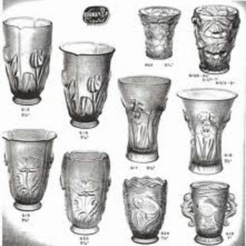 BAROLAC 617/ 618: IRISES - Art Glass