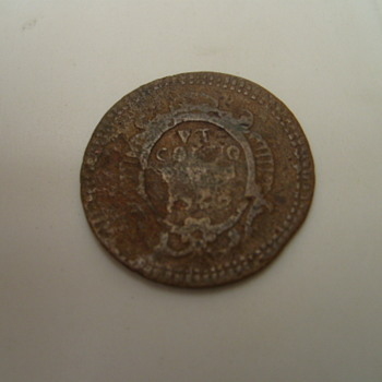 ANTIQUE ROMAN COIN ?? 16TH CENTURY OR EARLIER HELP !!