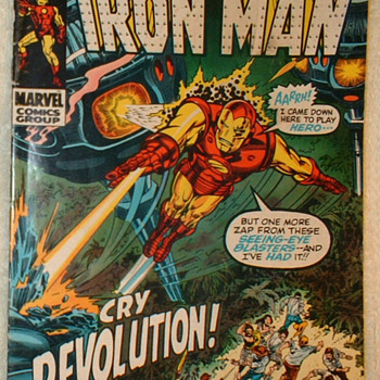 The Invincible Iron Man #29 - Comic Books