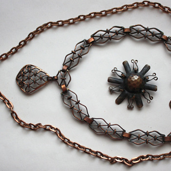 My copper jewelry - Costume Jewelry