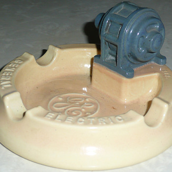 General Electric Generators Ashtray