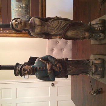 Chapman Mfg Co antique nautical lamps