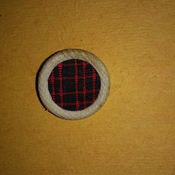 Fabric button - Sewing