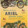 1954 Ariel Motorcycle Advertisement