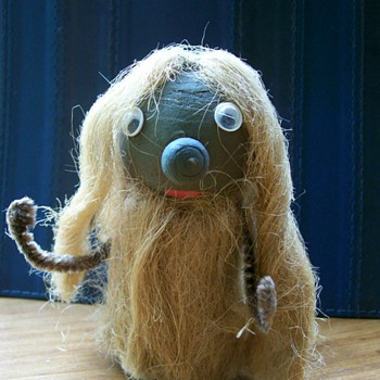 Wood Troll Made in Sweden . Threw in a curve ball on my posts :-) - Dolls