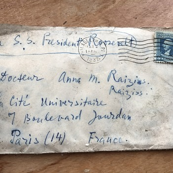1920's to 1930's Letters and Stamps