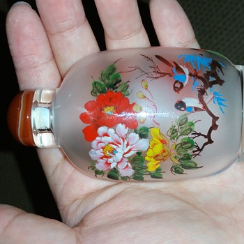 Bird snuff bottle  - Bottles
