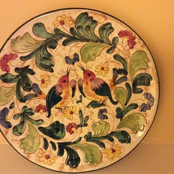 1932 Italian plate