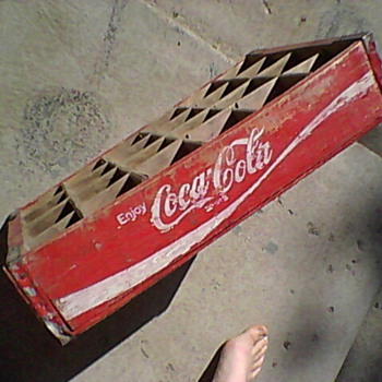 Coca Cola Wooden Crate? - Coca-Cola