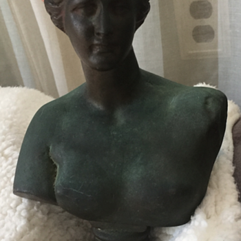 Female Bronze Bust - Visual Art