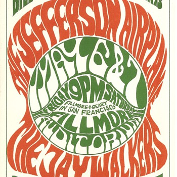 Jefferson Airplane, May 6-7, 1966, BG-05 - Music