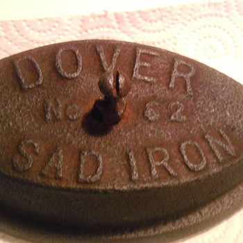 Dover No. 62 SAD Iron Heating Plate