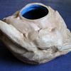 Art Nouveau Nude Pottery Vase