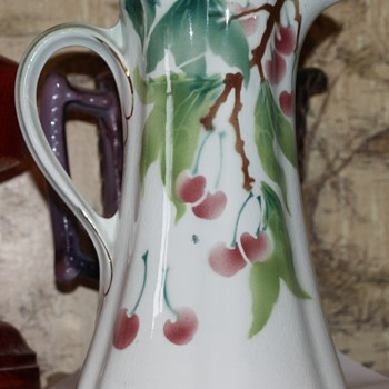 Limoges pitcher - China and Dinnerware