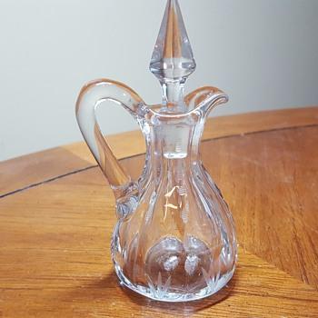 Small Cruet - Glassware