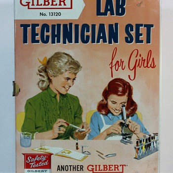 Gilbert Lab Technician Set For Girls - Games