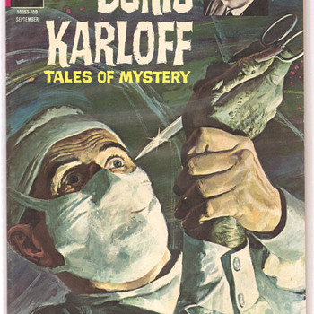 1967 Boris Karloff Tales of Mystery Comic #19