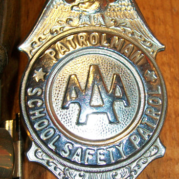AAA badge - Medals Pins and Badges