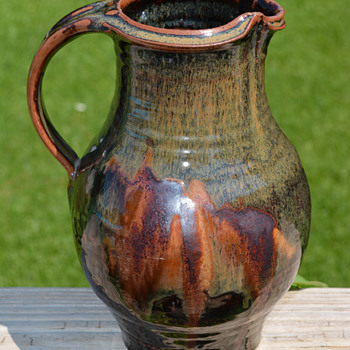 My favorite find this past weekend--yes another pitcher ;) - Art Pottery