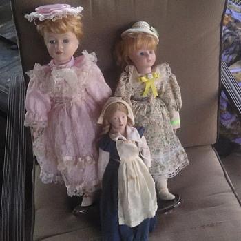 Porcelain dolls - Dolls
