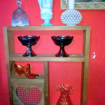 Fenton Glass Collection - Glassware