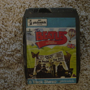 1962 BEATLES 8 TRACK TAPE UNOPENED - Music