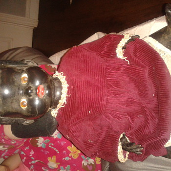 old black pedigree doll - Dolls