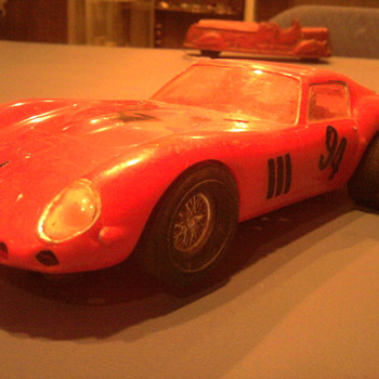 Cool 1/25 scale 60's slot car...  1962 Ferrari 250 GTO...