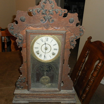 My Seth Thomas Clock, made June 1899 - Clocks