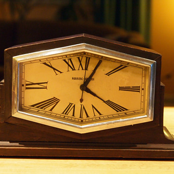 1930's Manning Bowman Electric Clock - Art Deco