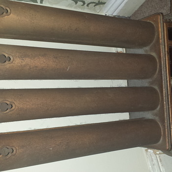 lovely antique gas heater