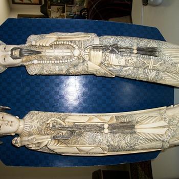 Ivory Figurines - Figurines