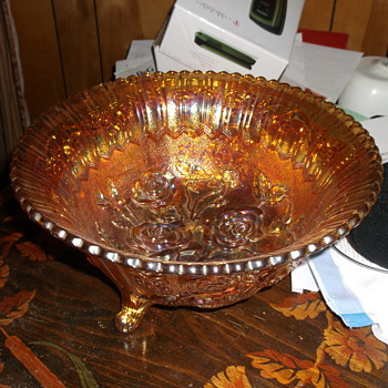 Orange Bowl - Glassware