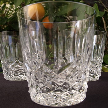 Waterford? Fine Crystal glasses