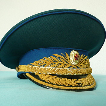 Soviet Parade Visor Cap of a KGB General