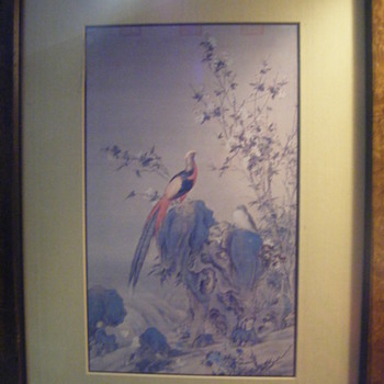 "Vintage Soicher Marin ""oriental "" prints.  - Asian"