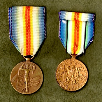 The WWI Victory Medal Series - Czechoslovakia - Military and Wartime
