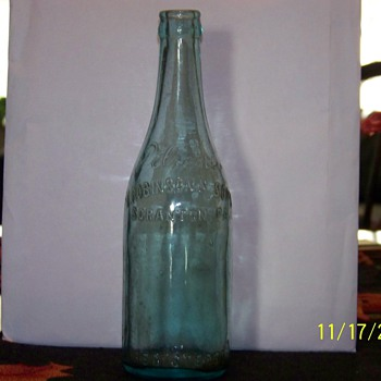old beer bottle - Breweriana