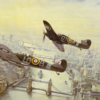 Victory Salute over London - Military and Wartime