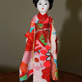 Hanako Brand Japanese doll with 3 wigs