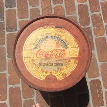 10 gal. Syrup keg - Coca-Cola