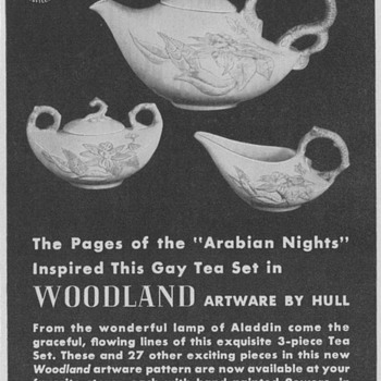 1950 Hull Pottery Advertisements - Advertising