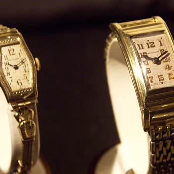 Waltham Wristwatches, early Restorations - Woman &amp; Man&#039;s Models