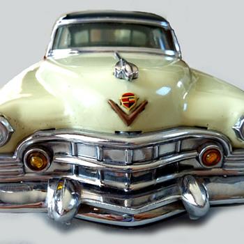 A Rare Marusan Tinplate Cadillac