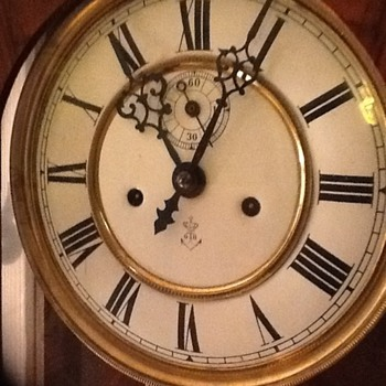 Gustav Becker(65.5) wall clock circa 1912